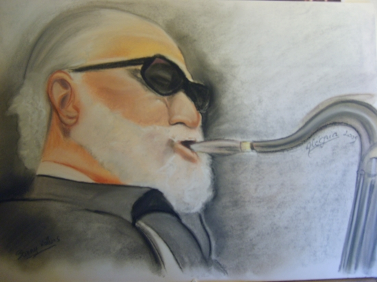Sonny Rollins by joie